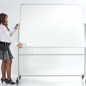 Mobile Double Sided Ceramic Steel Writing Boards