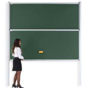 Vertical Double Sliding Writing Board
